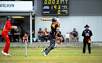180101 Cricket - Wellington A v Zimbabwe Under-19