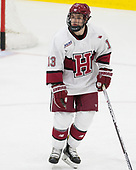 Nathan Krusko (Harvard - 13) - The Harvard University Crimson defeated the visiting Boston College Eagles 5-2 on Friday, November 18, 2016, at the Bright-Landry Hockey Center in Boston, Massachusetts.