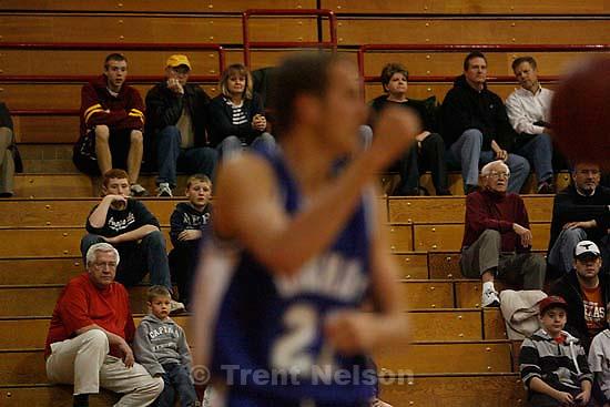 Bountiful vs. Bingham high school boys basketball, Friday, December 4 2009 in Bountiful. fans.
