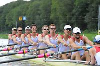 Amsterdam, NETHERLANDS, USA BM8+,  2011 FISA U23 World Rowing Championships, Wednesday, 20/07/2011 [Mandatory credit:  Intersport Images]