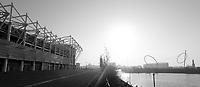 A general view of the Riverside Stadium, home of Middlesbrough<br /> <br /> Photographer David Shipman/CameraSport<br /> <br /> The Premier League - Middlesbrough v Burnley - Saturday 8th April 2017 - Riverside Stadium - Middlesbrough<br /> <br /> World Copyright &copy; 2017 CameraSport. All rights reserved. 43 Linden Ave. Countesthorpe. Leicester. England. LE8 5PG - Tel: +44 (0) 116 277 4147 - admin@camerasport.com - www.camerasport.com