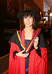 20/1/2015   (with compliments)  Attending the University of Limerick conferrings on Tuesday afternoon was Dr. Mariana Kok, Birhill, Co. Tipperary who was conferred with a PHD.<br /> Picture Liam Burke/Press 22