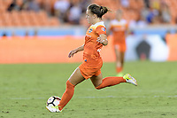 Houston, TX - Wednesday June 28, 2017: Andressinha passes the ball during a regular season National Women's Soccer League (NWSL) match between the Houston Dash and the Boston Breakers at BBVA Compass Stadium.