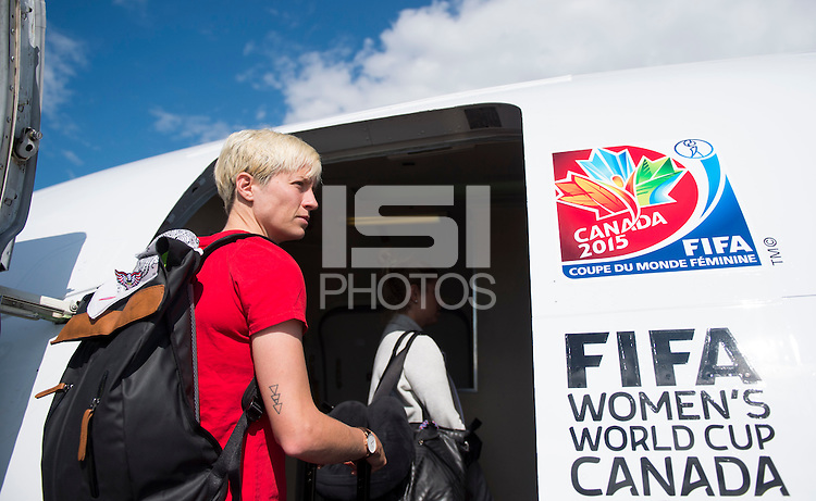 Ottawa, Canada - June 23, 2015:  The USWNT traveled to Ottawa for their quarterfinal game in the FIFA Women's World Cup.