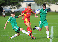 140418 Capital Three Football - Marist v Tawa