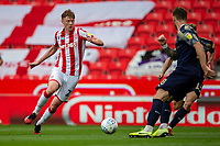 4th July 2020; Bet365 Stadium, Stoke, Staffordshire, England; English Championship Football, Stoke City versus Barnsley; Sam Clucas of Stoke City takes a shot on goal