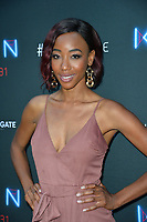 "LOS ANGELES, CA. August 29, 2018: Charmaine Bingwa  at the premiere of ""KIN"" at the Arclight Theatre, Hollywood."