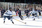 Justin Howell (UConn - 22), Rob Michel (Maine - 3), Maxim Letunov (UConn - 27), Miles Gendron (UConn - 10), Mark Hamilton (Maine - 47) - The University of Maine Black Bears defeated the University of Connecticut Huskies 4-0 at Fenway Park on Saturday, January 14, 2017, in Boston, Massachusetts.