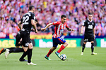 Angel Correa of Atletico de Madrid (R) in action during the La Liga match between Atletico Madrid and Eibar at Wanda Metropolitano Stadium on May 20, 2018 in Madrid, Spain. Photo by Diego Souto / Power Sport Images