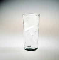 ICE CUBES IN A GLASS (2 of 2)<br /> Entropy/Enthalpy Series<br /> Melting ice is favored by entropy but disfavored by enthalpy. The freezing of water is favored by enthalpy but disfavored by entropy. The entropy &amp; enthalpy terms for both processes balance each other at 0 deg C.