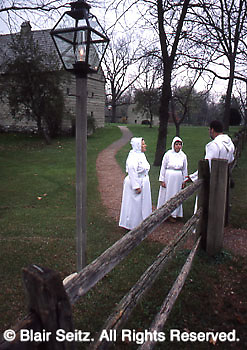 Ephrata Cloister, Ephrata, PA, early American religious sect