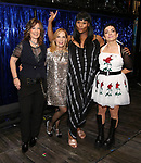 Kathy Valentine, Charlotte Caffey, Peppermint and Jane Wiedlin during the Broadway Opening Night Performance Actors' Equity Legacy Robe honoring Justin Prescott at the Hudson Theatre on July 26, 2018 in New York City.