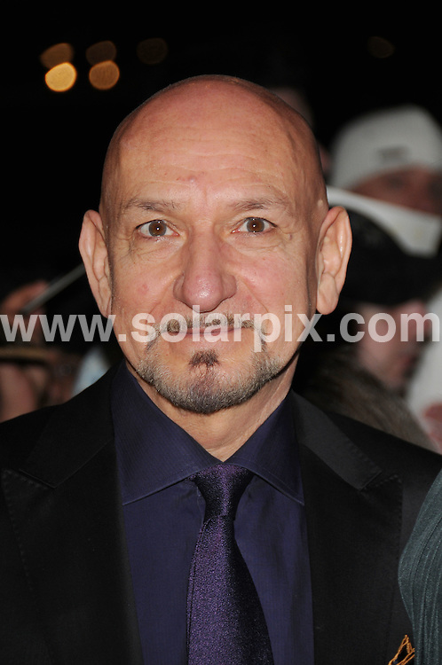 **ALL ROUND PICTURES FROM SOLARPIX.COM**.**WORLDWIDE SYNDICATION RIGHTS**.Red carpet arrivals and Press Room at The London Critics' Circle Film Awards held at the Grosvenor House Hotel, Park Lane, Mayfair, London, UK. 4 February 2009..This pic: Sir Ben Kingsley..JOB REF: 8412 BTT      DATE: 04_02_2009.**MUST CREDIT SOLARPIX.COM OR DOUBLE FEE WILL BE CHARGED**.**ONLINE USAGE FEE  GBP 50.00 PER PICTURE - NOTIFICATION OF USAGE TO PHOTO @ SOLARPIX.COM**