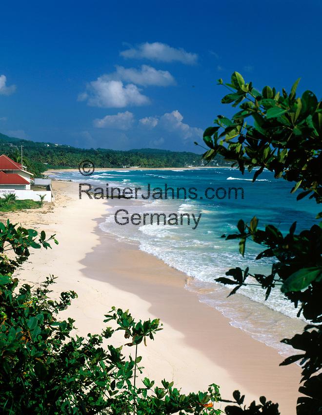 Jamaica, Portland, Long Bay, einsamer Strand | Jamaica, Portland, Long Bay, deserted Beach