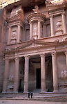 Jordan, Petra. The facade of the Treasury (Al Khazneh)&amp;#xA;<br />