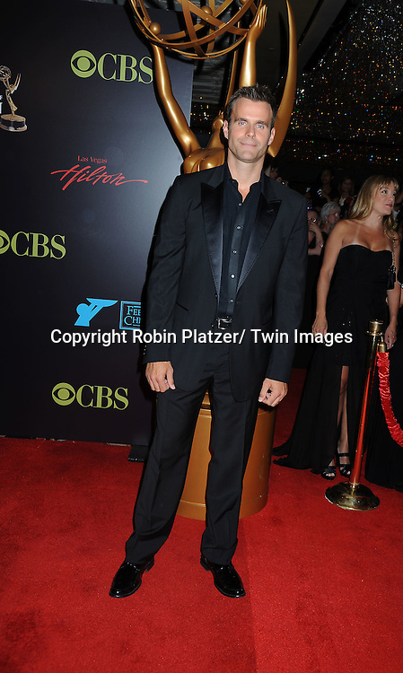 Cameron Mathison arriving at the 37th Annual Daytime Emmy Awards at The Hilton in Las Vegas in Nevada on June 27, 2010