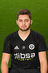 Josh Farrar of Sheffield Utd during the 2017/18 Photocall at Bramall Lane Stadium, Sheffield. Picture date 7th September 2017. Picture credit should read: Sportimage