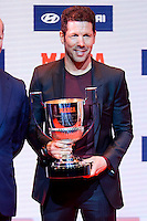 Atletico de Madrid coach Diego Pablo Simeone attends to the photocell of the Marca Awards 2015-2016 at Florida Park in Madrid. November 07, 2016. (ALTERPHOTOS/Borja B.Hojas) ///NORTEPHOTO.COM