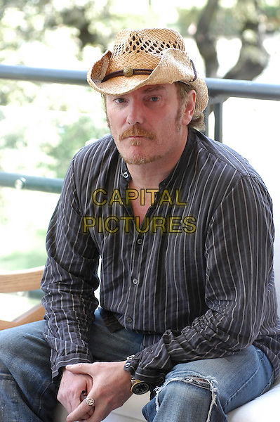 "MICK DAVIS.Photocall for ""Modigliani"".May 9th, 2005.half length straw hat director facial hair.www.capitalpictures.com.sales@capitalpictures.com.© Capital Pictures."