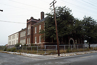 1983 July ..Redevelopment.Huntersville 1&2 (R-70)..LOTT CAREY SCHOOL...NEG#.NRHA#..