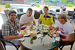 Pat, Ryan, Alex & Jake Cumbaya