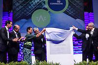 SANTOS, SP, 05 DE JUNHO 2013 - INAUGURACAO EXPANSAO DO TERMINAL ACUCAREIRO COPERSUCAR - Inauguração da expansão do Terminal Açucareiro Copersucar no Porto de Santos litoral sul do Estado de Sao Paulo nesta quarta-feira, 05. FOTO: VANESSA CARVALHO - BRAZIL PHOTO PRESS.