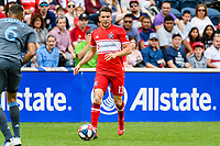 Bridgeview, IL - Saturday May 25, 2019: Major League Soccer (MLS) match between the Chicago Fire and the New York City FC at SeatGeek Stadium.