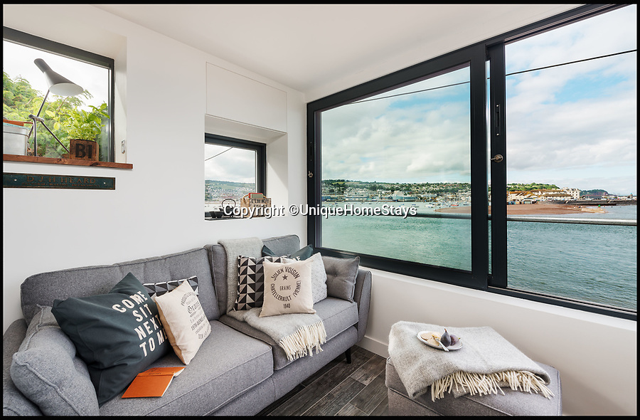 BNPS.co.uk (01202 558833)<br /> Pic: UniqueHomeStays/BNPS<br /> <br /> Sea Sentry, Shaldon, Devon.<br /> <br /> Those looking to escape the chaos of a big family Christmas can get away from it all in these quirky romantic retreats for two - a stable used by pigs, a Second World War sentry post, a Narnia-esque cottage and a prairie wagon.Unique Home Stays, which specialises in unusual holiday lets, still has some properties available for Christmas for anyone who wants to avoid the in-laws and dodge a day of present-swapping and cracker-pulling.<br /> <br /> A tiny Second World War guard house overlooking the English Channel has been converted into a luxurious holiday let where you can keep a lookout for unwanted visitors.