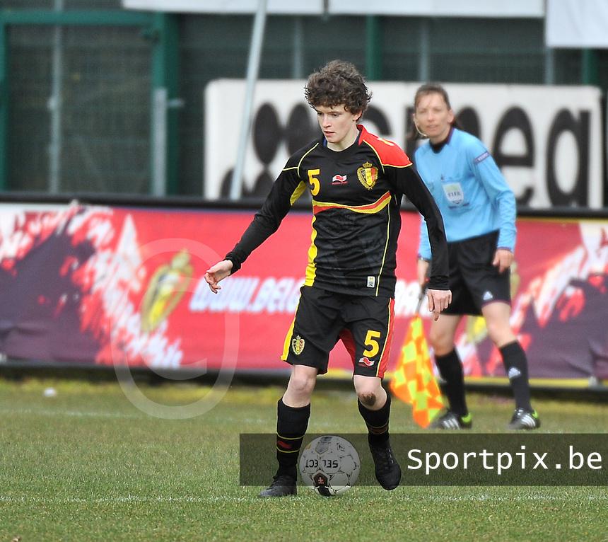 Russia U19 - Belgium U19 : Tinne Van Den Bergh.foto DAVID CATRY / Nikonpro.be