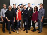 "Jeffrey Couchman, John Plumpis, Ron McClary, Victoria Mack, Jeffrey C. Hawkins, Scott Alan Evans, Karl Kenzler, Dana Smith-Croll and Joel Jones attends the TACT/The Actors Company Theatre Cast Meet & Greet for  ""Three Wise Guys"" on February 15, 2018 at the TACT Studios in New York City."
