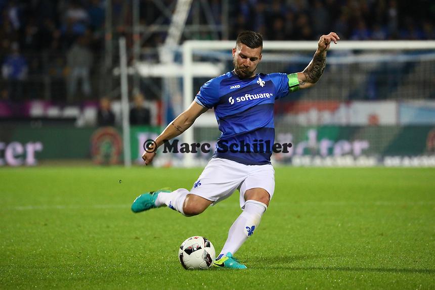 Jerome Gondorf (SV Darmstadt 98) - SV Darmstadt 98 vs. TSG 1899 Hoffenheim, Johnny Heimes Stadion am Boellenfalltor