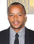 Donald Faison attends The 2nd Annual Critics' Choice Television Awards  held at The Beverly Hilton in Beverly Hills, California on June 18,2012                                                                               © 2012 DVS / Hollywood Press Agency