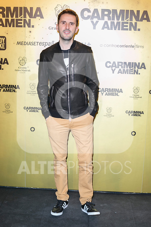 "Spanish actor Julian Lopez attend the Premiere of the movie ""Carmina y Amen"" at the Callao Cinema in Madrid, Spain. April 28, 2014. (ALTERPHOTOS/Carlos Dafonte)"