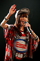Yumiko, a member of the group ''hy4_4yh'' performs during the ''Harajuku Kawaii Week'' on May 10, 2015, Tokyo, Japan. Various  famous models and idol groups attend the ''Harajuku Kawaii Week 2015'' to promotes the fashion events in Tokyo. The event was held from May 09 to 10. (Photo by Rodrigo Reyes Marin/AFLO)