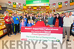 All South Kerry Clubs in attendance in Walsh's Super Valu Cahersiveen for the South Kerry Minor, Junior & Senior Cup Draws on Friday evening with Michael Keating Chairman of the South Kerry Board, Dermot Walsh (Walsh's Super Valu Cahersiveen) & Suzane O'Leary Secretary S.K. Board.