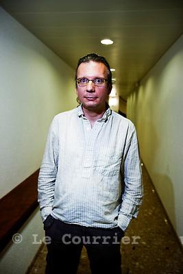 Genève, le 22.06.2010.Yves Mugny, syndicaliste..© Le Courrier / J.-P. Di Silvestro