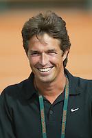 28-5-06,France, Paris, Tennis , Roland Garros, Melle van Gemerden