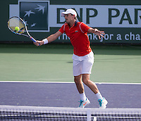 EDOUARD ROGER-VASSELIN (FRA)<br /> <br /> Tennis - BNP PARIBAS OPEN 2015 - Indian Wells - ATP 1000 - WTA Premier -  Indian Wells Tennis Garden  - United States of America - 2015<br /> &copy; AMN IMAGES