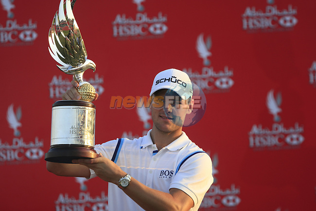 Martin Kaymer wins the tournament by 8 shots with a score of 24 under at the end of the Final Day Sunday of the Abu Dhabi HSBC Golf Championship, 23rd January 2011..(Picture Eoin Clarke/www.golffile.ie)