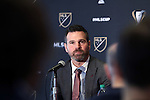 08 December 2016: Toronto head coach Greg Vanney. Major League Soccer held a press conference with Toronto FC and Seattle Sounders FC at the Kia Training Ground in Toronto, Ontario in Canada two days before MLS Cup 2016.