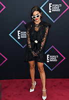 LOS ANGELES, CA. November 11, 2018: Manu Gavassi at the E! People's Choice Awards 2018 at Barker Hangar, Santa Monica Airport.<br /> Picture: Paul Smith/Featureflash