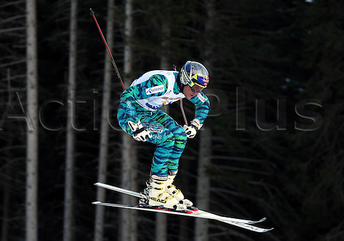 23.12.2011. Paganella, Italy. V PAY ALPINE ROCKFEST..SVINDAL Aksel Lund (NOR) in action, in Andalo, Italy. Ted LIGETY (USA) won the event, and €60000 euros money prize.
