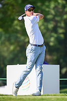 Adam Scott (AUS) on the 3rd tee during the first round of the WGC Bridgestone Invitational, Firestone country club, Akron, Ohio, USA. 03/08/2017.<br /> Picture Ken Murray / Golffile.ie<br /> <br /> All photo usage must carry mandatory copyright credit (&copy; Golffile | Ken Murray)