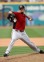 Daniel Schlereth - Arizona Diamondbacks - 2009 spring training.Photo by:  Bill Mitchell/Four Seam Images