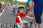 Ready for the road in the Tralee Wetlands for the Pedal in the Park on Friday.