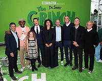 NEW YORK, NY - NOVEMBER 03: Tyler, The Creator, Cameron Seely, Benedict Cumberbatch, Chris Meledandri attends Dr. Seuss' The Grinch World Premiere at Alice Tully Hall  on November 3, 2018 in New York City.  <br /> CAP/MPI/JP<br /> &copy;JP/MPI/Capital Pictures