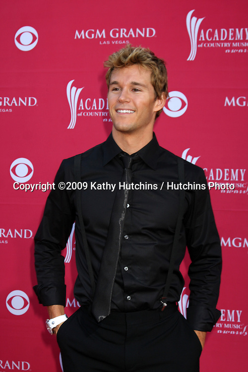 Ryan Kwanten  arriving at the 44th Academy of Country Music Awards at the MGM Grand Arena in  Las Vegas, NV on April 5, 2009.©2009 Kathy Hutchins / Hutchins Photo....                .