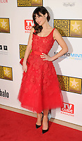 BEVERLY HILLS, CA - JUNE 18: Zooey Deschanel  arrives at The Critics' Choice Television Awards at The Beverly Hilton Hotel on June 18, 2012 in Beverly Hills, California. /NortePhoto.com<br /> <br /> **CREDITO*OBLIGATORIO** *No*Venta*A*Terceros*<br /> *No*Sale*So*third*