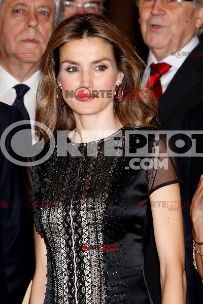 Princess Letizia of Spain attend the 'Francisco Cerecedo Journalism Award' ceremony at the Ritz Hotel in Madrid. November 20, 2012. (ALTERPHOTOS/Caro Marin) /NortePhoto