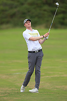 Eugene Smith (Laytown &amp; Bettystown) on the 7th fairway during the 1/4 Finals of the AIG Irish Close Championship at the European Club, Brittas Bay, Wicklow, Ireland on Monday 6th August 2018.<br /> Picture: Thos Caffrey / Golffile<br /> <br /> All photo usage must carry mandatory copyright credit (&copy; Golffile | Thos Caffrey)